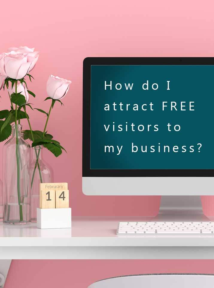Get a website and attract visitors